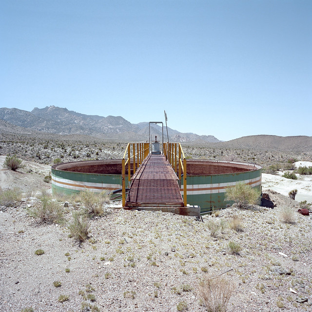 industrial ruin. mojave desert, ca. 2016.