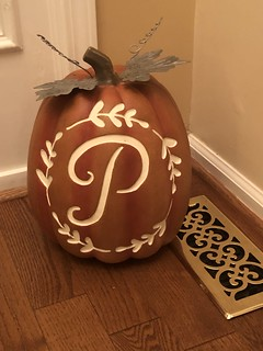 Our Phillies pumpkin - Happy Fall !