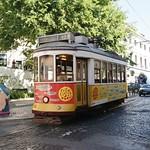 Tram 553 de Lisbonne (Portugal)