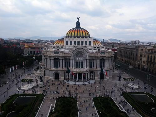bellas partes palacio cdmx ciudad de mexico city centro histórico alameda historic buildings