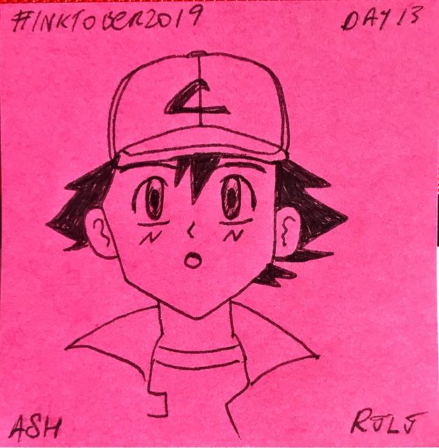 Ash #Inktober2019 Day 13