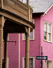 """New Orleans - French Quarter """"Contrasting Street Corners"""""""