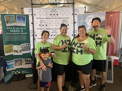 Maui Electric at the 97th Annual Maui Fair — Oct. 3, 2019: Our team also taught visitors about Maui's clean energy future!