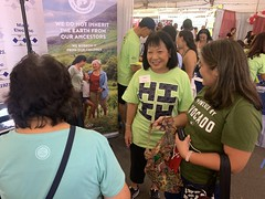 Maui Electric at the 97th Annual Maui Fair — Oct. 3, 2019: Sharon Suzuki, our president of Maui County and Hawaii Island utilities, interacted and spoke with our customers at the event.