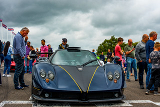 PAGANI ZONDA PS @ PETER SAYWELL EVENT