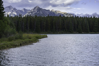 Two Jack Lake view