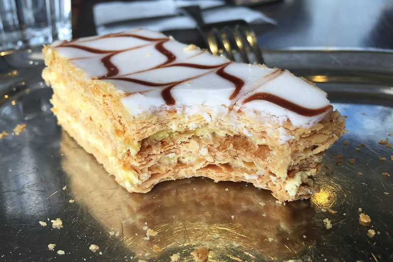 Vanilla slice: The Portuguese Bakery