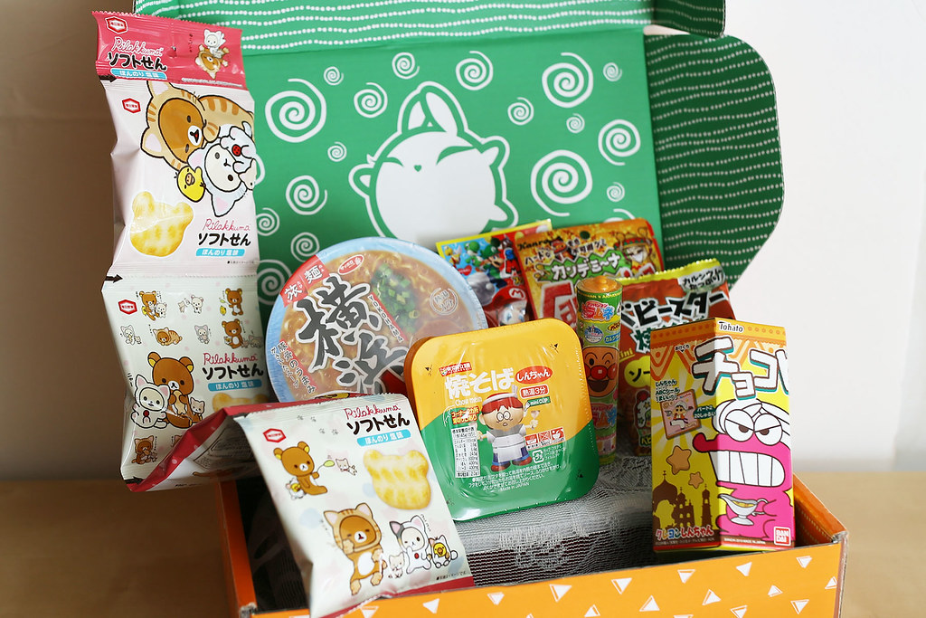 ZenPop Japanese Ramen + Sweets Mix Pack (October 2019)