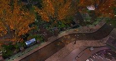 Calas Galadhon in Autumn