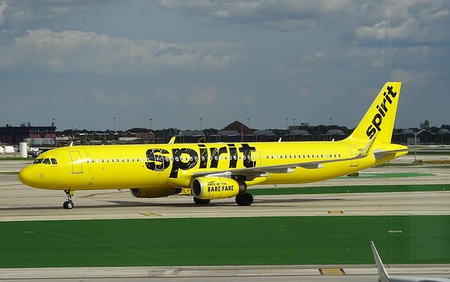Spirit Airbus A321 N669NK