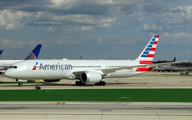 American Airlines Boeing 787-9 N840AN