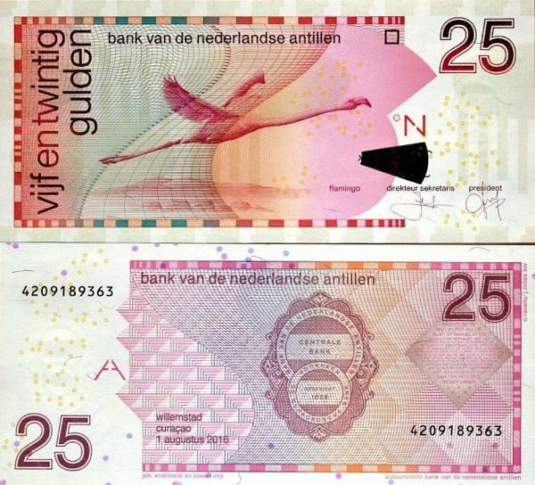 25 Guldenov Holandské Antily 2016, P29i