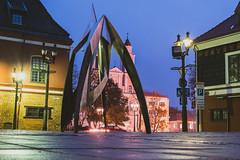 City at night | Kaunas