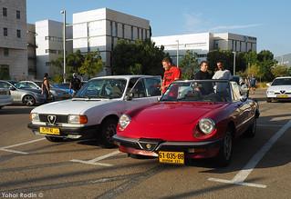 Alfa Romeo Spider (105/115 series) and Alfa Romeo Alfasud