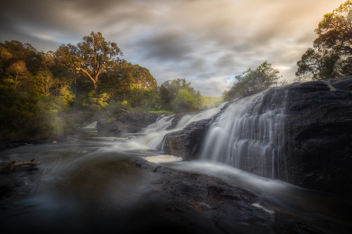 margaret river westernaustralia wine region australia waterfall sunrise