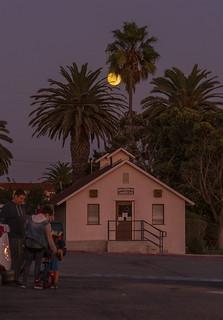 Angels Gate Park, Moonrise