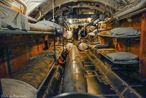 Business End of Kriegsmarine's U-505 - Forward Torpedo Room