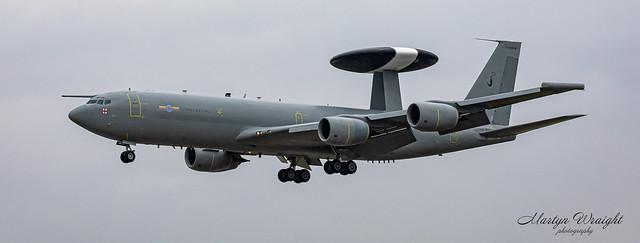 No 8 Sqn RAF E3D Sentry AEW1 (AWACS)