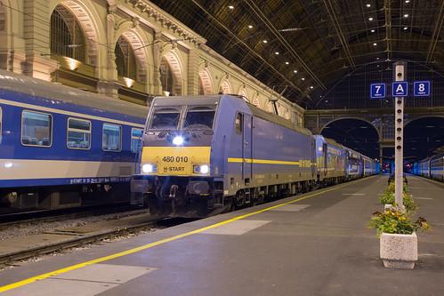 MÁV 480 010 Budapest Keleti