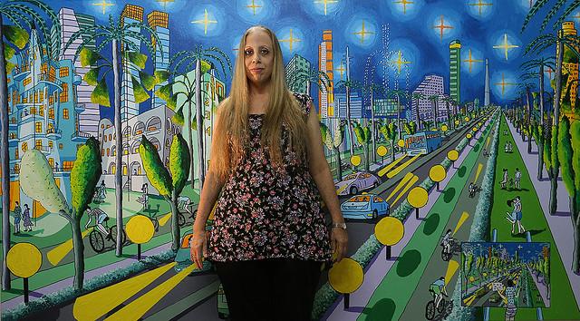 רפי פרץ אמנות ישראלית עכשווית מודרנית ארנה דוידזון ציירת אמנית חובבת ביקור סטודיו raphael perez orna davidzon israeli painter art