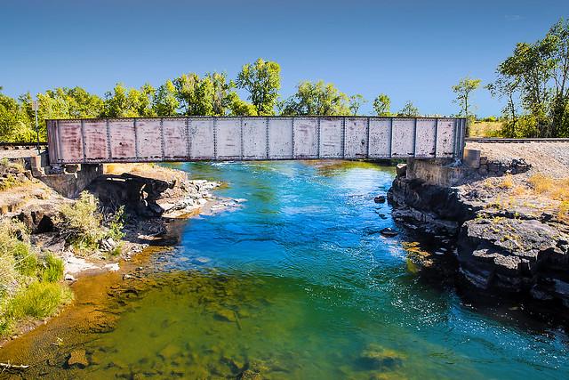 Railroad Bridge Over Fall River
