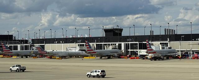 American Airlines L Pier E-Jet Gates