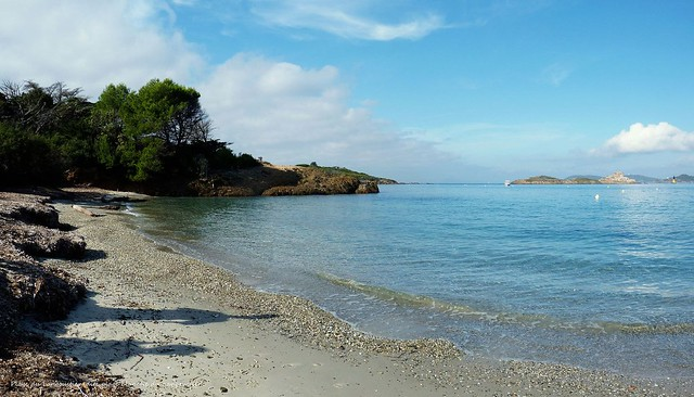 La plage du Langoustier.....