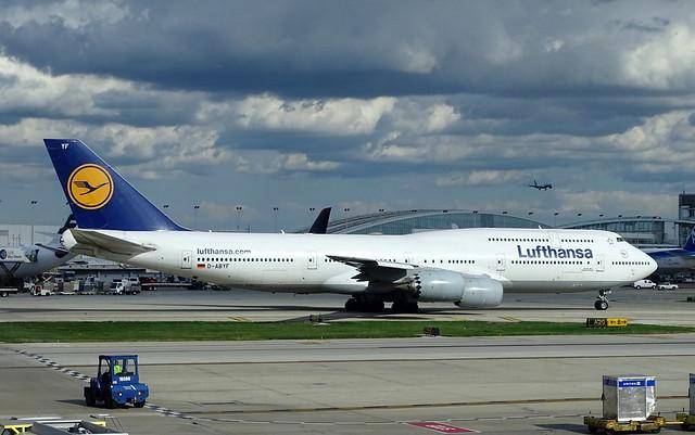 Lufthansa Boeing 747-8i D-ABYF
