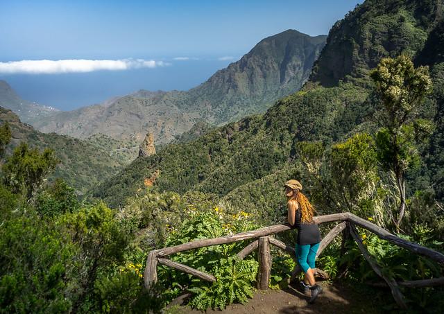 Unknown lookout in La Gomera