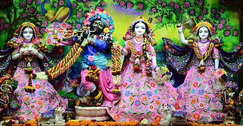 ISKCON Nasik Deity Darshan 13 Oct 2019