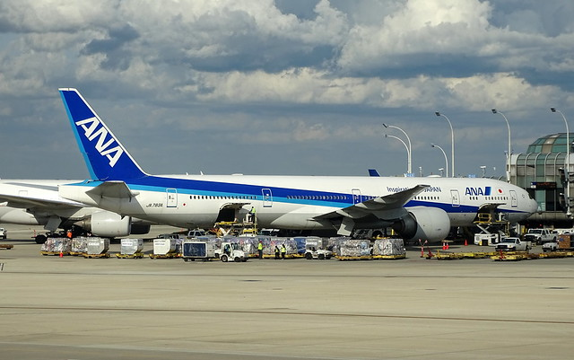 All Nippon Airlines Boeing 777-300ER JA783A