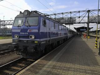 EC 104 Wien - Gdynia