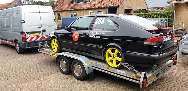 Saab 93 junkyardrace 2019 Zandvoort