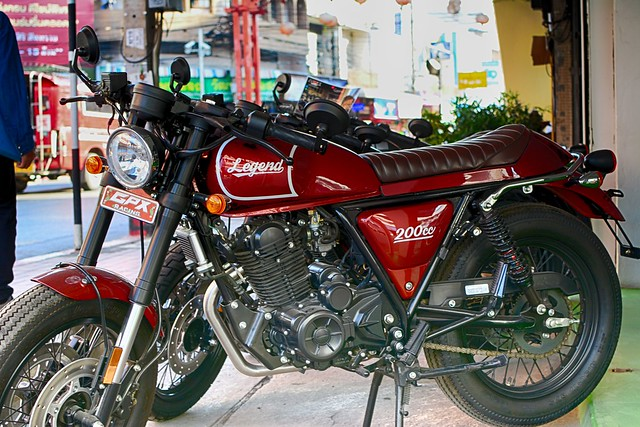Red Legend Motorcycle