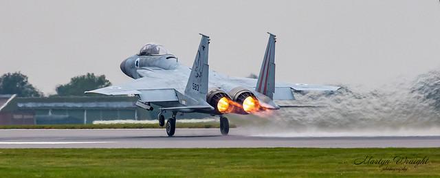Israeli Air Force F15C Eagle.