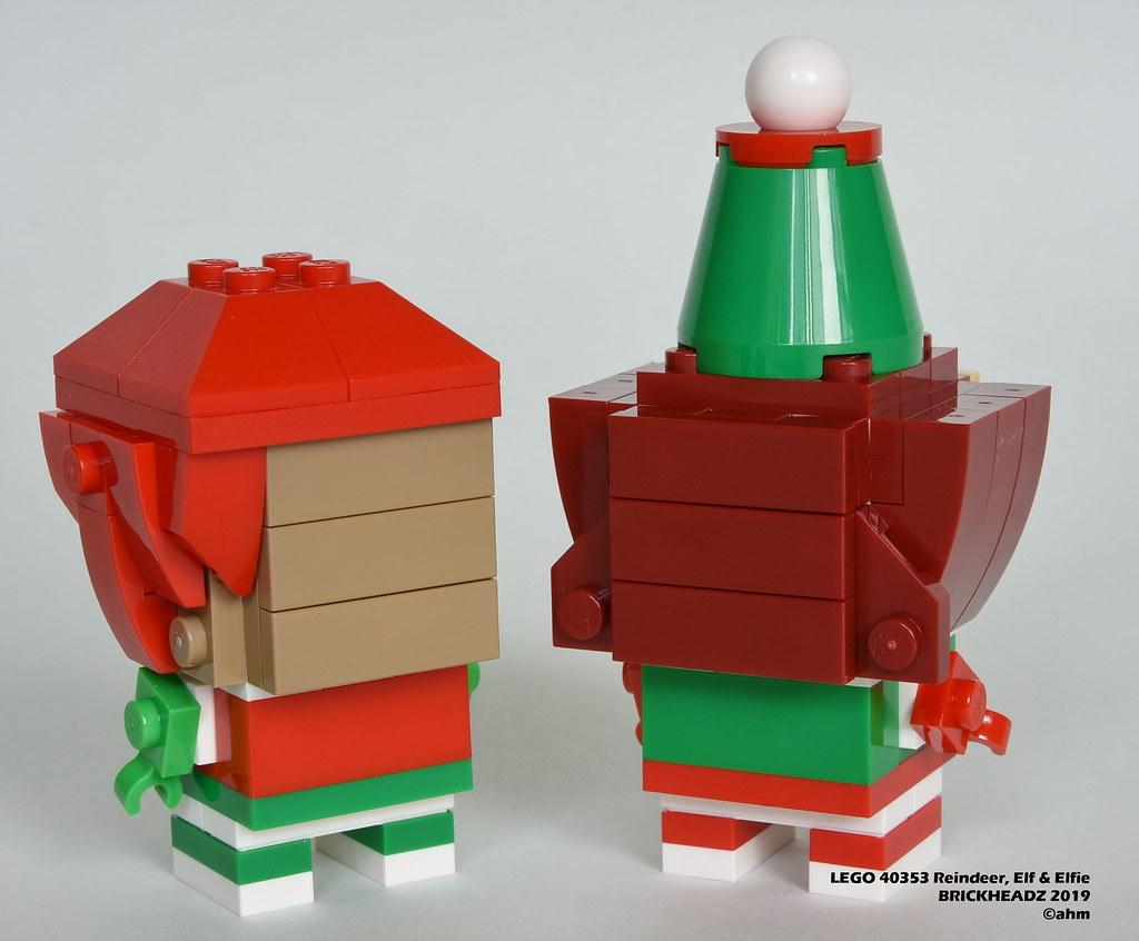 LEGO 40353 REINDEER AND ELVES
