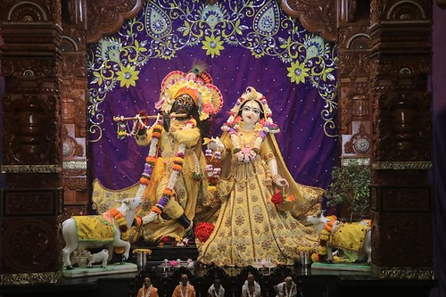 ISKCON Noida Deity Darshan 13 Oct 2019