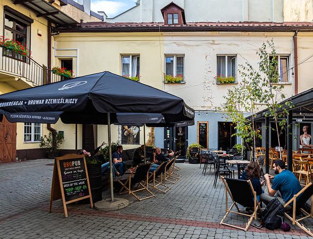 Craft Beer Heaven - Bro Pub ( Polish Craft Beer by Brokreacja) Krakow (Olympus OM-D EM1.2 & Leica DG Summilux 10-25mm f1.7 Zoom) (1 of 1)