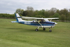 G-ZEVS Reims-Cessna F172H [0736] Popham 050519