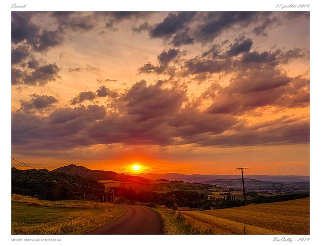 Coucher de soleil | Sunset