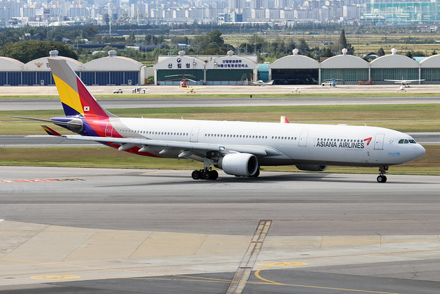 HL7794  -  Airbus A330-323  -  Asiana Airlines  -  GMP/RKSS 6/10/19