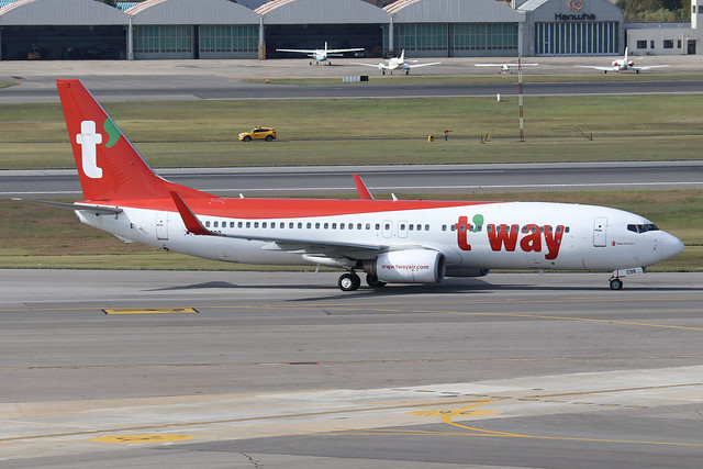HL8098  -  Boeing 737-8K8 (WL)  -  T'Way Air  -  GMP/RKSS 6/10/19