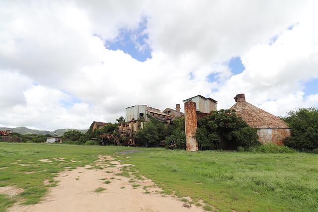 Abandoned sugar mill in Koloa, Kauai