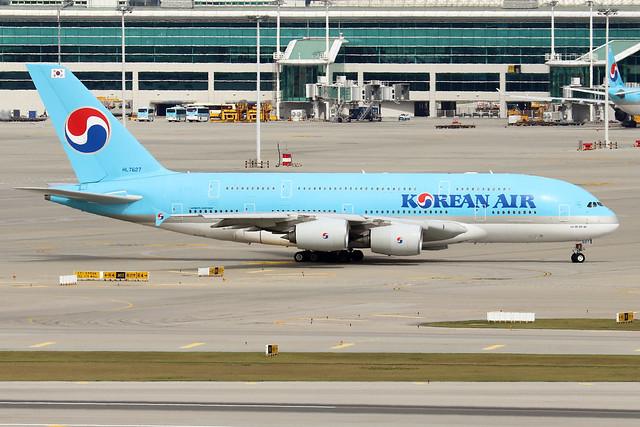 HL7627  -  Airbus A380-841  -  Korean Air  -  ICN/RKCI 6/10/19