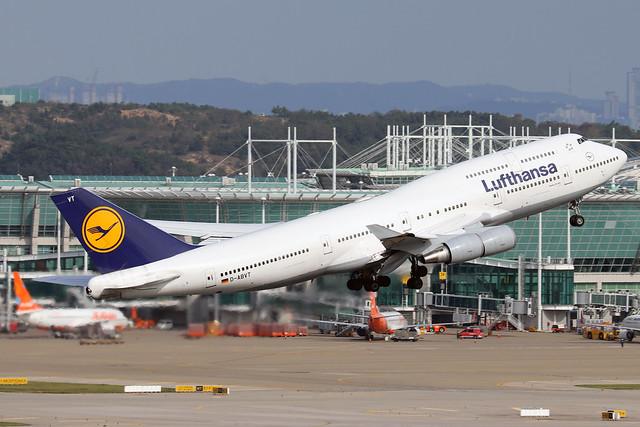 D-ABVT  -  Boeing 747-430  -  Lufthansa  -  ICN/RKSI 06/10/19