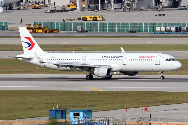 B-8559  -  Airbus A321-211 (SL)  -  China Eastern  -  ICN/RKSI 6/10/19