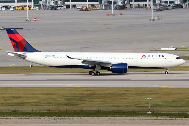 N403DX  -  Airbus A330-941N  -  Delta Air Lines  -  ICN/RKSI 6/10/19