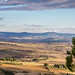 View from the belvedere walkway in Pienza, looking over theVal d'Orcia