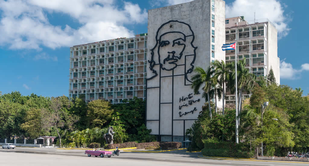 Bezienswaardigheden Havana, Cuba: Plaza de la Revolucion | Mooistestedentrips.nl