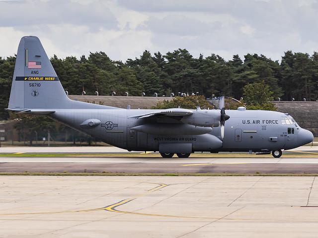 United States Air Force | Lockheed Martin C-130H Hercules | 95-6710